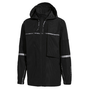 Thumbnail 1 of PUMA x LES BENJAMINS Herren Windbreaker, Puma Black, medium