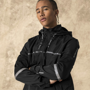 Thumbnail 2 of PUMA x LES BENJAMINS Herren Windbreaker, Puma Black, medium