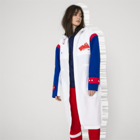 Thumbnail 6 of PUMA x ADER ERROR Full Zip Hooded Parka, Puma White, medium