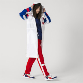 Thumbnail 8 of PUMA x ADER ERROR Full Zip Hooded Parka, Puma White, medium