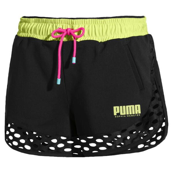 PUMA x SOPHIA WEBSTER Damen Shorts, Puma Black, large