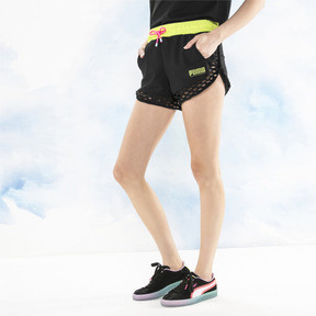 Thumbnail 1 of PUMA x SOPHIA WEBSTER Women's Shorts, Puma Black, medium