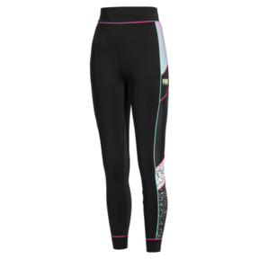 Thumbnail 4 of PUMA x SOPHIA WEBSTER Damen Tight, Puma Black, medium