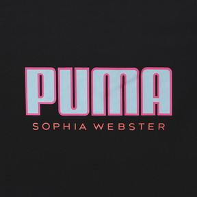 Thumbnail 7 of PUMA x SOPHIA WEBSTER ウィメンズ Tシャツ, Puma Black, medium-JPN