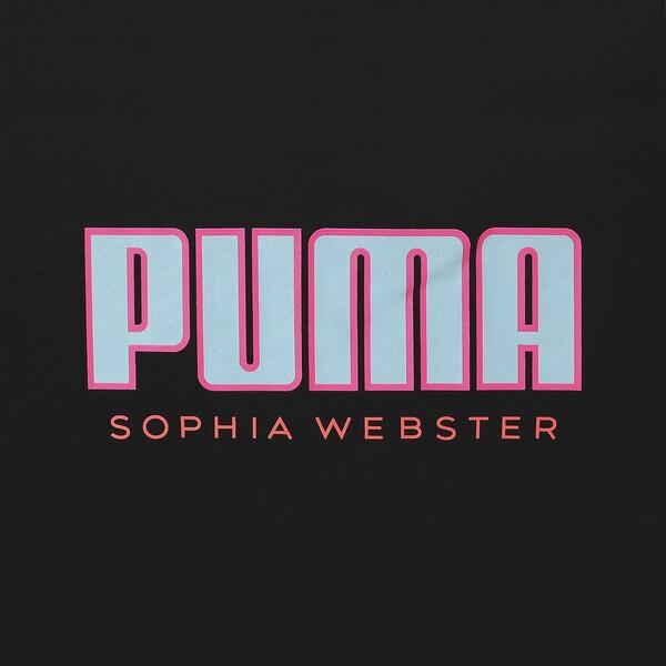 PUMA x SOPHIA WEBSTER ウィメンズ Tシャツ, Puma Black, large-JPN