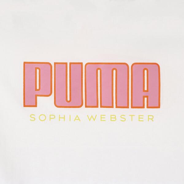 PUMA x SOPHIA WEBSTER ウィメンズ Tシャツ, Puma White, large-JPN