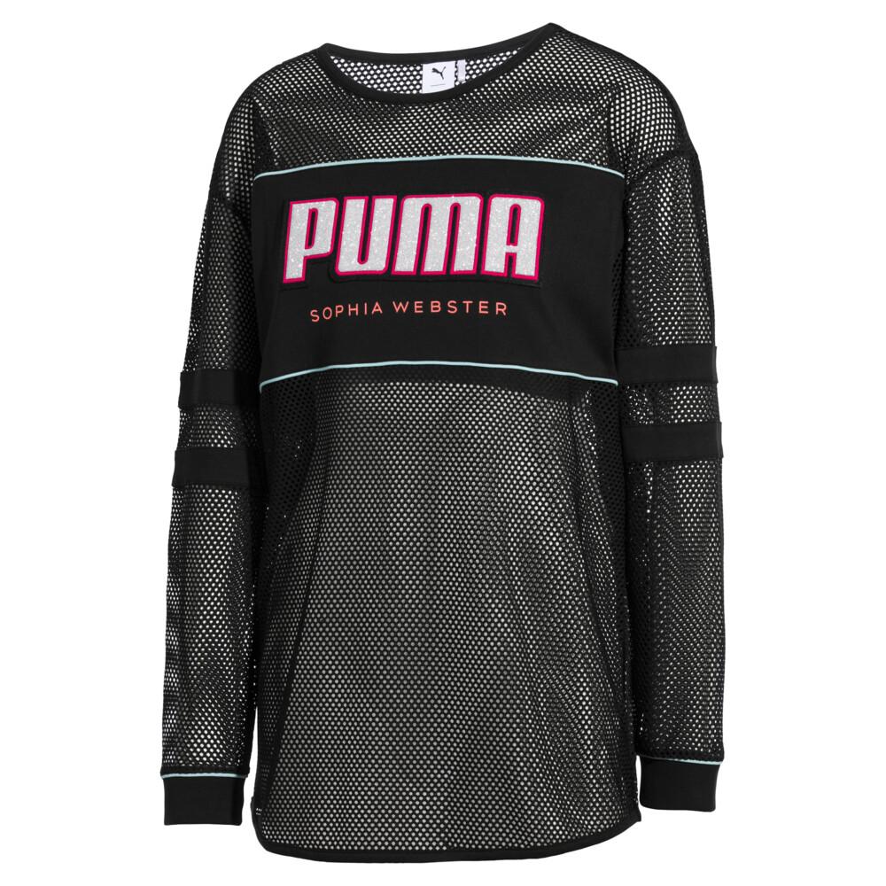 Image Puma PUMA x SOPHIA WEBSTER Longsleeve Tee #1