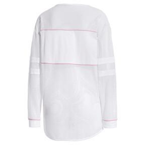 Miniatura 3 de Camiseta de malla de manga largaPUMA x SOPHIA WEBSTER para mujer, Puma White, mediano