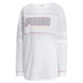 Thumbnail 5 of PUMA x SOPHIA WEBSTER ウィメンズ LS Tシャツ (長袖), Puma White, medium-JPN