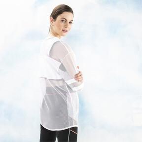 Miniatura 2 de Camiseta de malla de manga largaPUMA x SOPHIA WEBSTER para mujer, Puma White, mediano