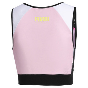 Thumbnail 10 of PUMA x SOPHIA WEBSTER Women's Reversible Crop Top, Puma White-AOP, medium