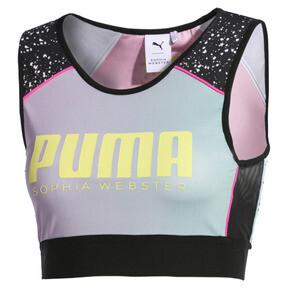 Thumbnail 7 of PUMA x SOPHIA WEBSTER Reversible Women's Crop Top, Puma White-AOP, medium