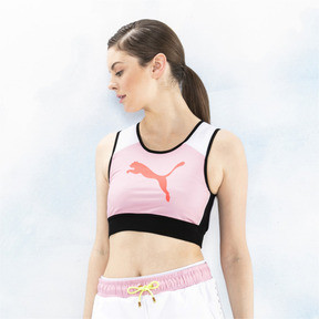 Thumbnail 4 of PUMA x SOPHIA WEBSTER Women's Reversible Crop Top, Puma White-AOP, medium
