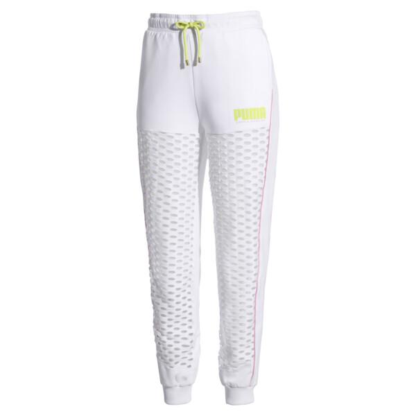 PUMA x SOPHIA WEBSTER Women's Sweatpants, Puma White, large