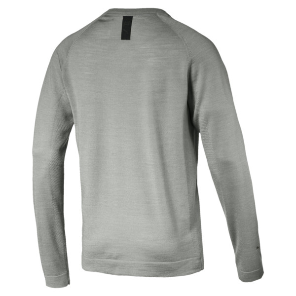 Porsche Design evoKNIT V-neck Men's Sweater, Limestone, large