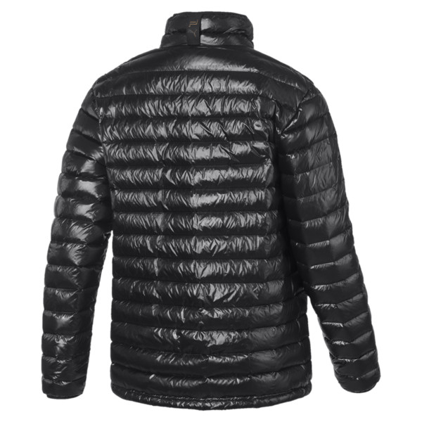 Porsche Design Lightweight Men's Down Jacket, Jet Black, large