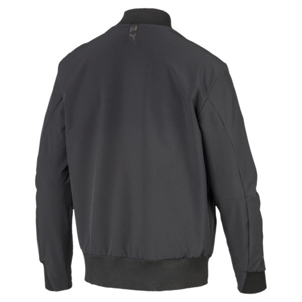 Porsche Design Men's Lightweight Jacket, Jet Black, large
