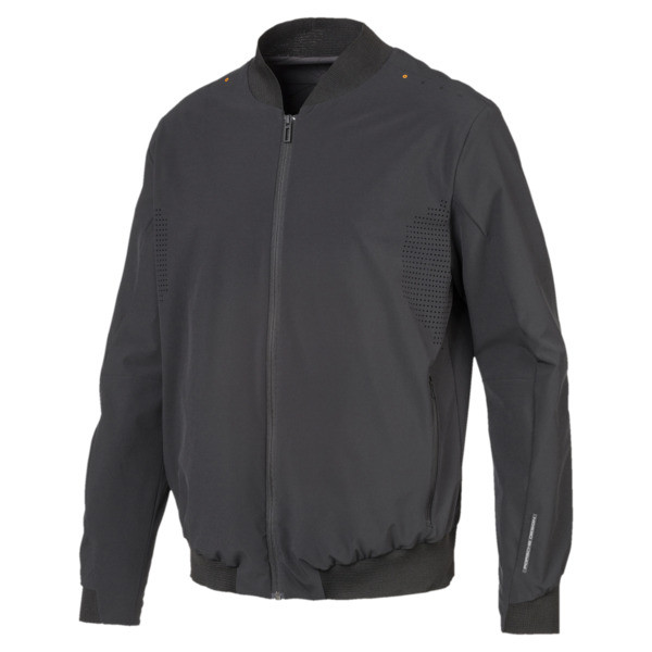Porsche Design Lightweight Men's Jacket, Jet Black, large