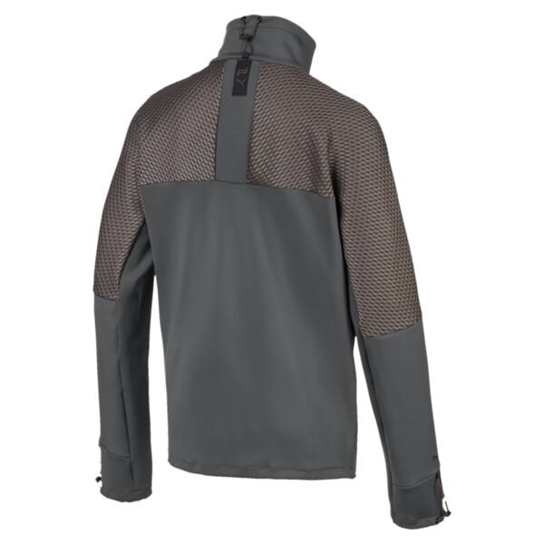 Porsche Design Men's Sweat Jacket, Asphalt, large