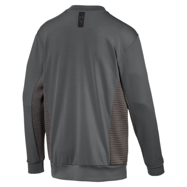 Sweat à encolure Porsche Design pour homme, Asphalt, large
