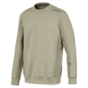Anteprima 1 di Porsche Design Crew-neck Men's Sweater, Elm, medio