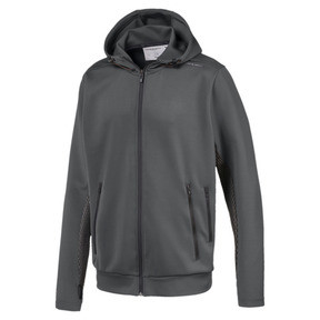 Thumbnail 1 of Porsche Design Hooded Men's Midlayer, Asphalt, medium