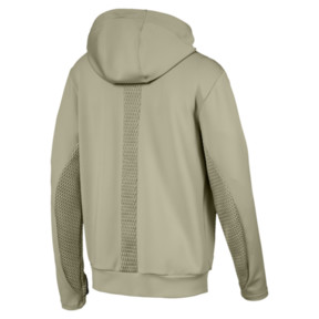 Thumbnail 2 of Porsche Design Hooded Men's Midlayer, Elm, medium