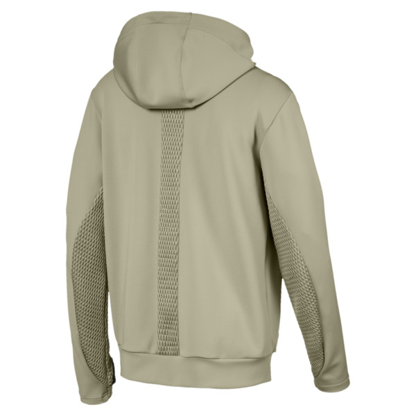 Porsche Design Hooded Men's Midlayer, Elm, large