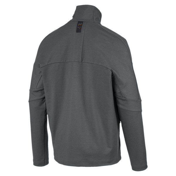 Porsche Design T7 Men's Track Jacket, Asphalt, large