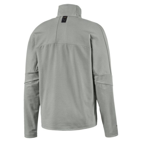 Porsche Design T7 Men's Track Jacket, Limestone, large