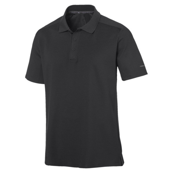 Porsche Design Men's Polo, Jet Black, large