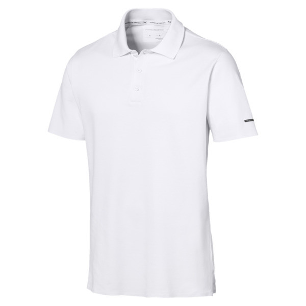 Porsche Design Herren Polo, Bright White, large