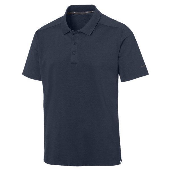 Porsche Design Herren Polo, Navy Blazer, large