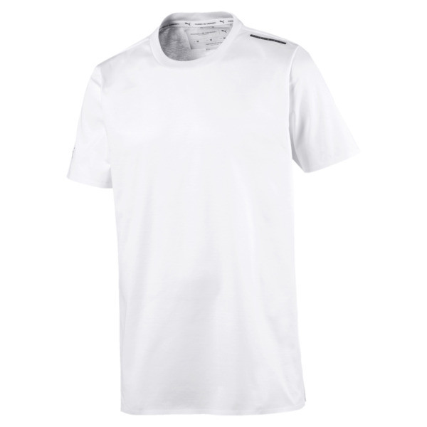 Porsche Design Essential Men's Tee, Puma White, large