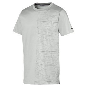 Thumbnail 1 of Porsche Design Graphic Men's Tee, Limestone, medium