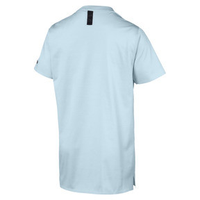 Thumbnail 2 of Porsche Design Graphic Men's Tee, Light Sky, medium