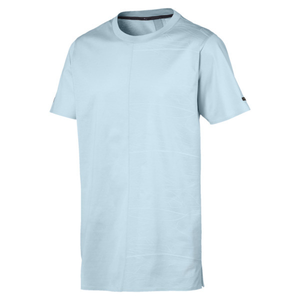 Porsche Design Graphic Men's Tee, Light Sky, large