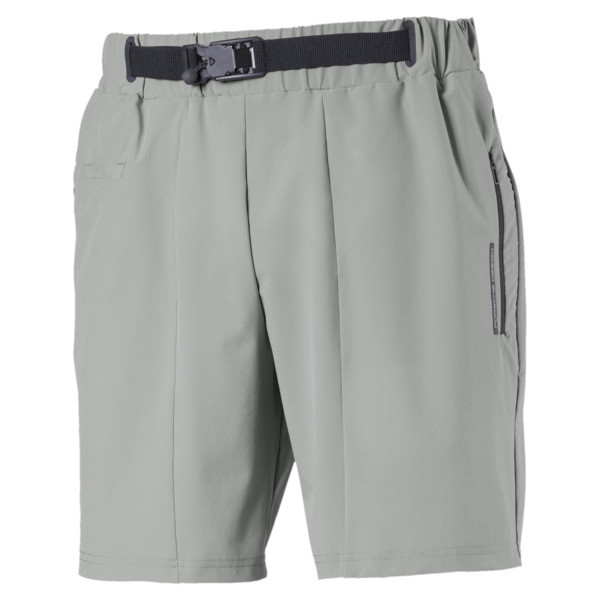 Porsche Design Men's Woven Shorts, Limestone, large