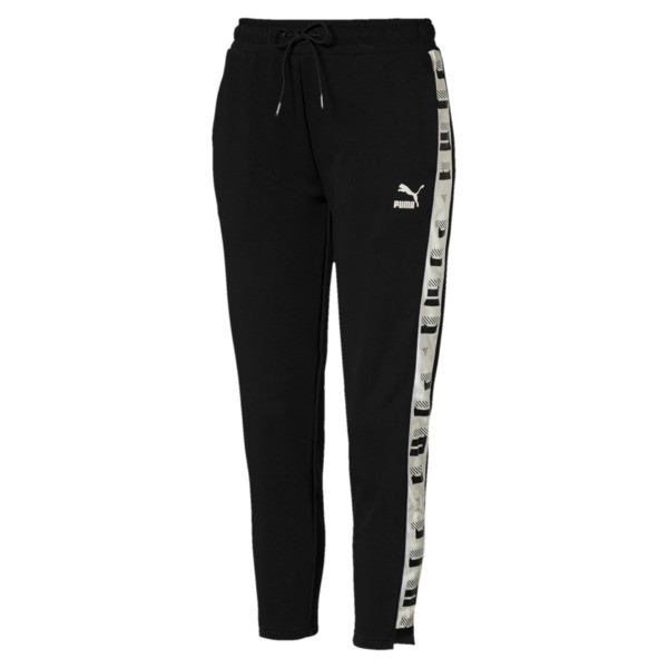 Revolt Women's Terry Sweatpants, Cotton Black, large