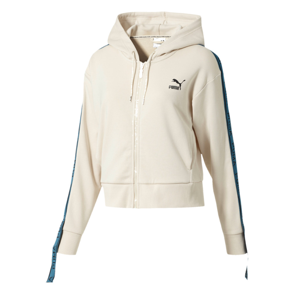 Image Puma Revolt Women's Full Zip Terry Hoodie #1
