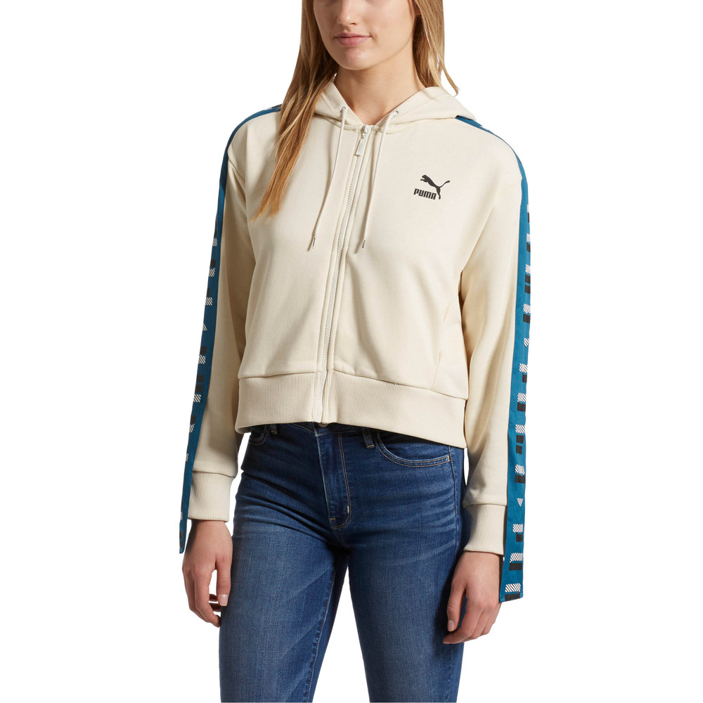Image PUMA Revolt Women's Full Zip Terry Hoodie #2