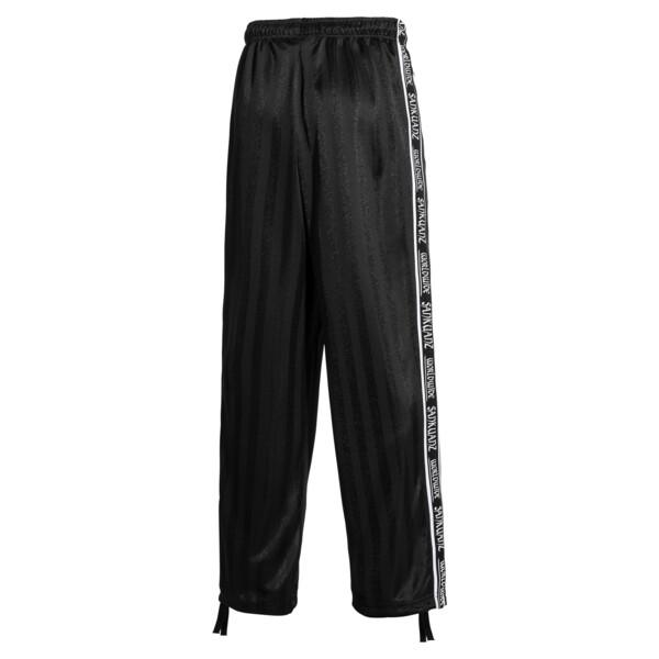 PUMA x SANKUANZ Striped Jacquard Men's Track Pants, Puma Black, large