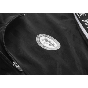 Thumbnail 7 of PUMA x SANKUANZ Striped Jacquard Men's Track Top, Puma Black, medium