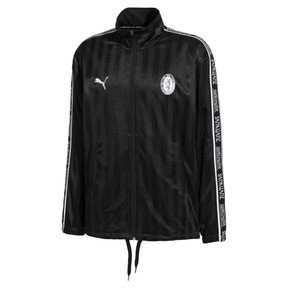 Thumbnail 1 of PUMA x SANKUANZ Striped Jacquard Men's Track Top, Puma Black, medium