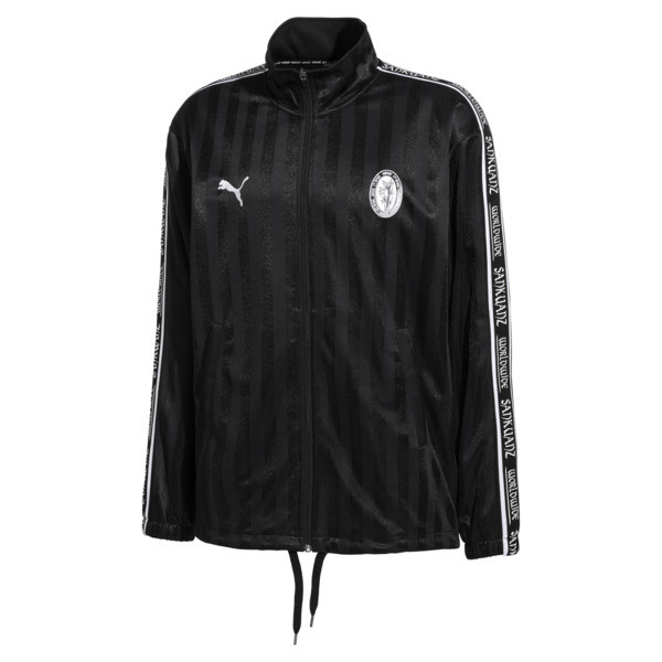 PUMA x SANKUANZ Striped Jacquard Men's Track Top, Puma Black, large
