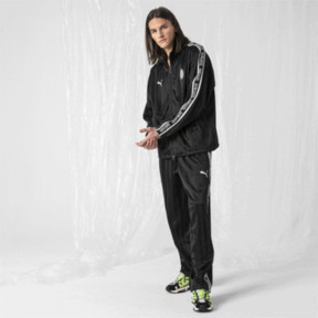 Thumbnail 3 of PUMA x SANKUANZ Striped Jacquard Men's Track Top, Puma Black, medium