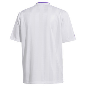 Thumbnail 4 of PUMA x SANKUANZ Striped Men's Jersey Tee, Puma White, medium