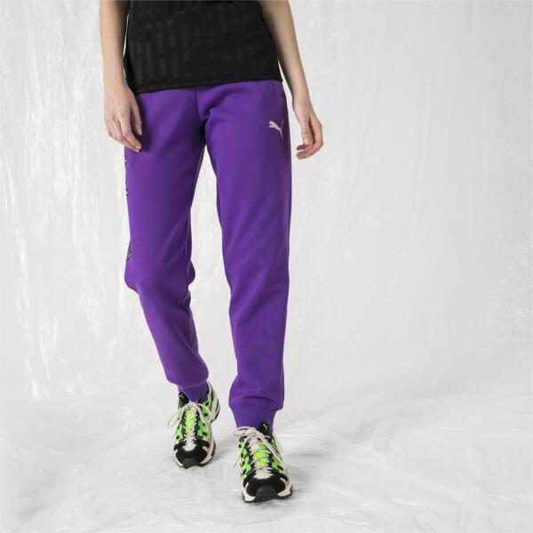 PUMA x SANKUANZ Women's Pants, ELECTRIC PURPLE, large