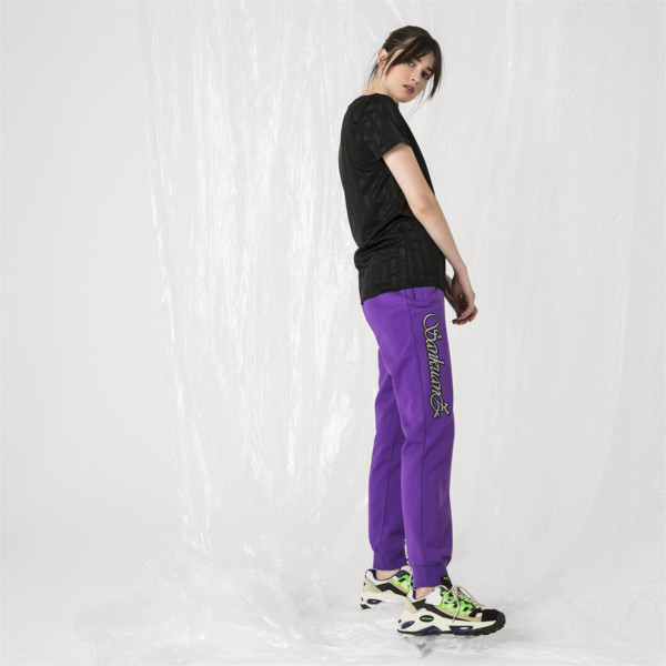 Pantalon sweat PUMA x SANKUANZ pour femme, ELECTRIC PURPLE, large