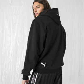 Thumbnail 3 of PUMA x SANKUANZ Hoodie, Cotton Black, medium